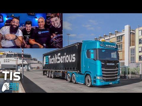 🔴 Ταξίδι με το Scania! - Euro Truck Simulator 2 LIVESTREAM | TechItSerious