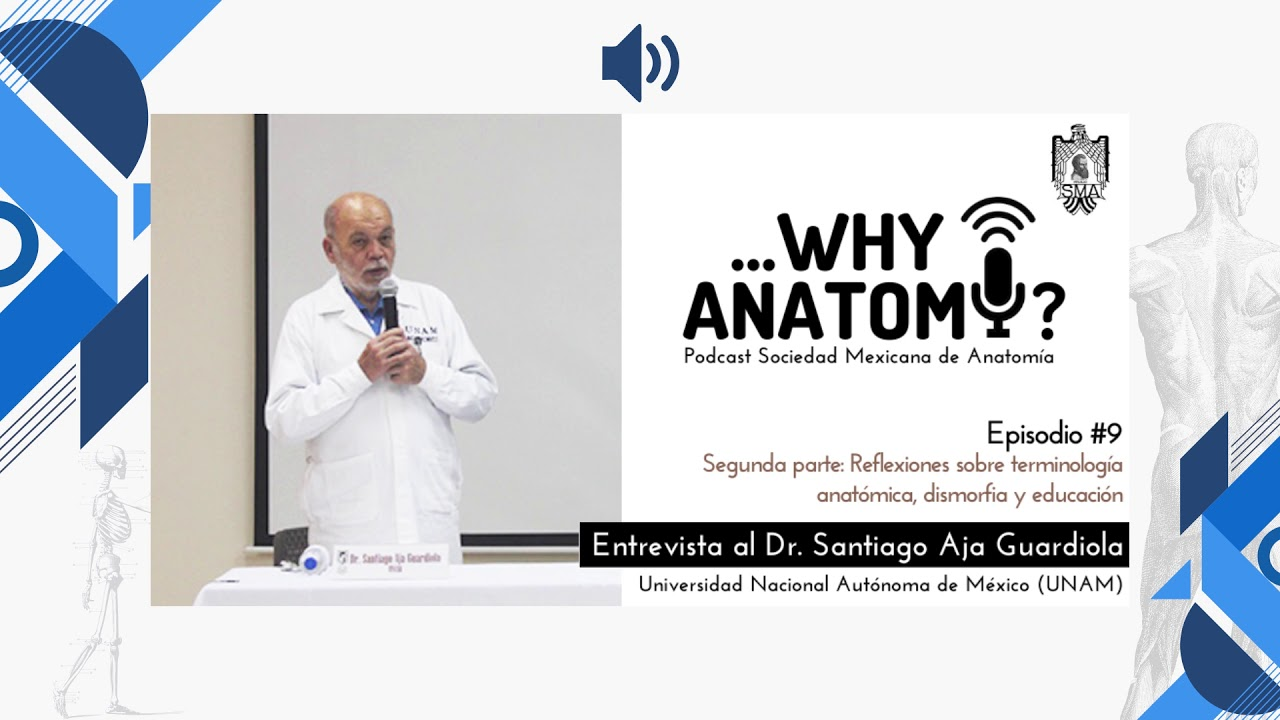Podcast ...Why Anatomy ? | Episodio #9 | Segunda parte | Entrevista al Dr. Santiago Aja Guardiola