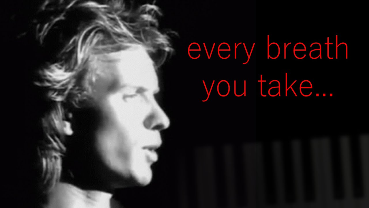 The Police - Every Breath You Take - Piano Tutorial