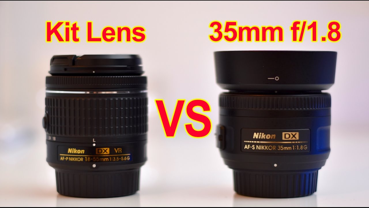 Kit lens vs 35mm (2019)