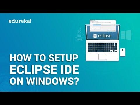 How To Setup Eclipse IDE On Windows? | Install Eclipse IDE With Java  On Windows | Edureka