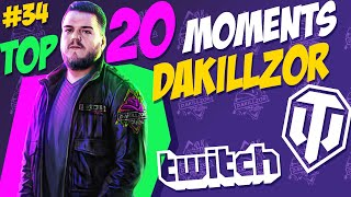 #34 Dakillzor TOP 20 Funny Moments   World of Tanks