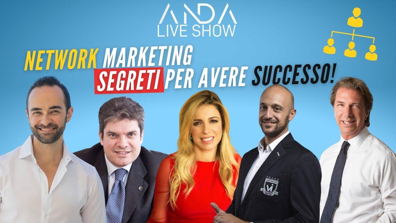 ANDA Live 14 – Network Marketing segreti per avere successo con Fabio Bollini e Stefania Lo Gatto