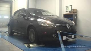 Renault Clio 4 1.5 dci 90cv Reprogrammation Moteur @ 109cv Digiservices Paris 77 Dyno