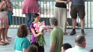Surprise Engagement Flashmob at the ICA