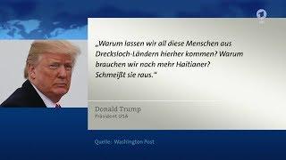 Donald Trump über Drecksloch-Länder