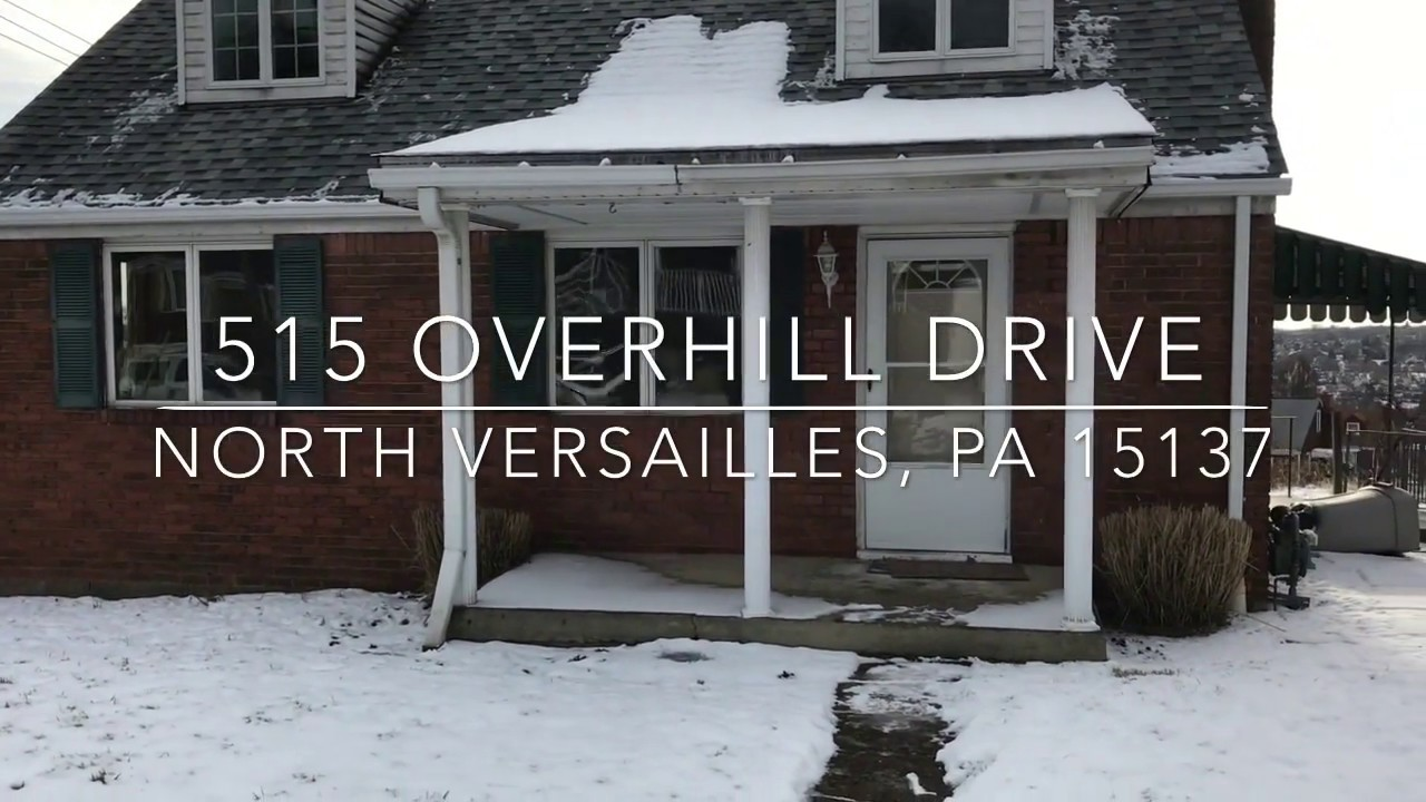 515 Overhill Drive, North Versailles, PA 15137