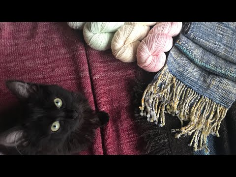Babbles Traveling Yarns: Episode 56 - Sweaters, Scarves And Shop Talk