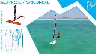 Mantafoils - mono 1200 - supfoil windfoil 110 board