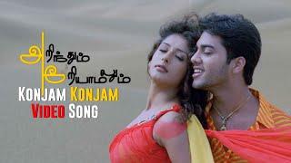 Konjam Konjam Video Song - Arinthum Ariyamalum | Arya | Navdeep | Samiksha | Yuvan Shankar Raja