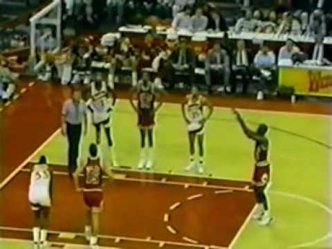 MICHAEL JORDAN: 48 pts vs Atlanta Hawks (1989.01.10)