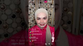 Siti Nurhaliza LIVE tiba2 Dato Lee Chong wei masuk..Siti Teruja nak main badminton with DLCW cute je