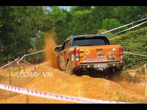 [XEHAY.VN] Xem người Việt phá xe tại cuộc thi King Of Pickup 2016
