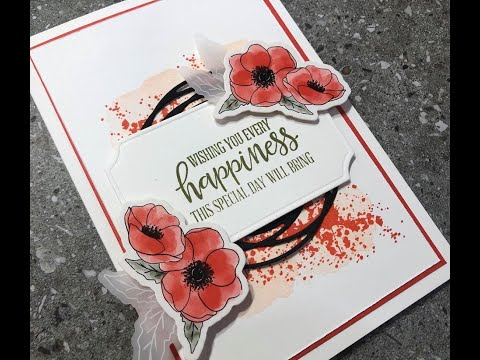 Episode 224 Stampin Up! 2020 Mini Catalogue Painted Poppies & Peaceful Moments Stamping With DonnaG!