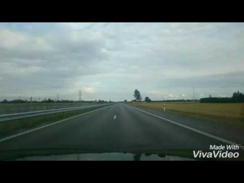 Road trip in Lithuania TIME LAPSE