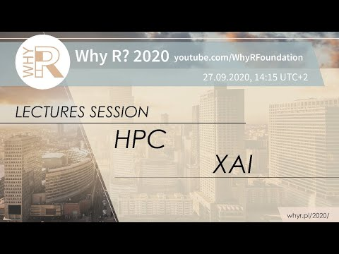 Why R? 2020 Session - HPC + XAI