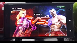 Tekken 6 on Android Using PPSSPP 0.9.9 + Settings (Ultra smooth and sound)
