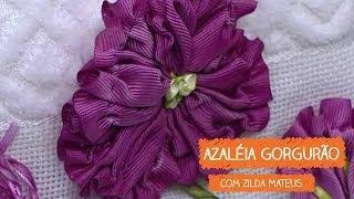 Azaléia de Gorgurão com Zilda Mateus