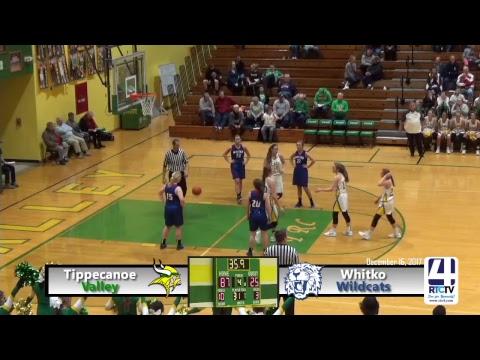Tippecanoe Valley Girls Basketball vs Whitko