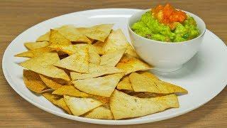 Гуакамоле и чипсы начос. Мексиканская кухня. Рецепт от Всегда Вкусно!