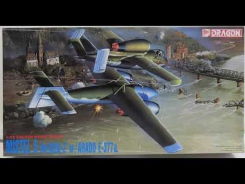 Dragon/DML 5002 1/72 German Mistel 5 - He162A-2 w/Arado E-377A