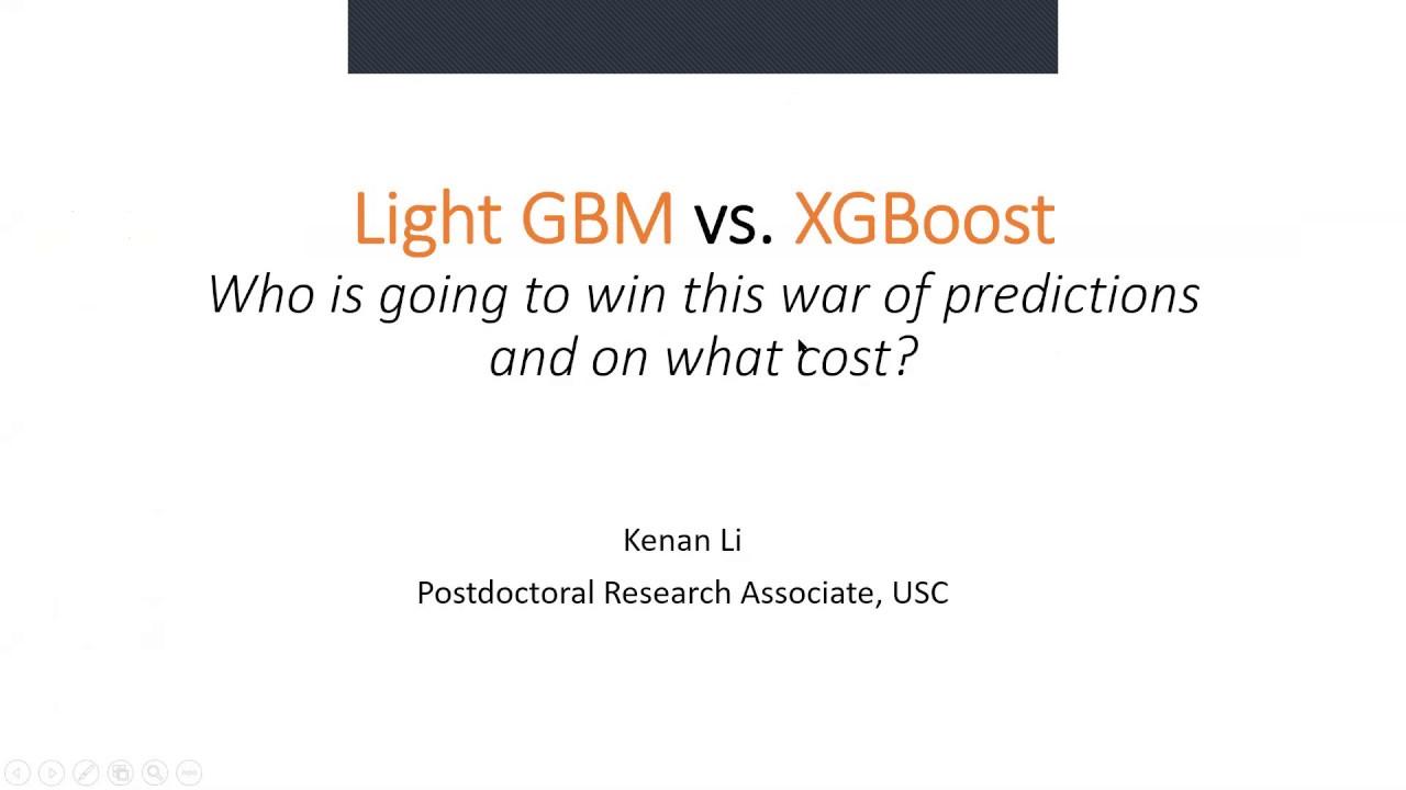 3/31Live知识讲堂 | 商业分析师-数据科学家常用工具XGBoost与LightGBM大比拼,性能与结构