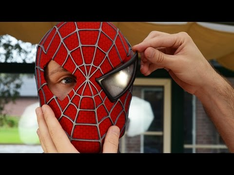 Spider Man Eye Frames For Face Shell Mask Costume