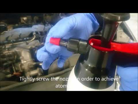 Sol-X Turbo System Cleaner Application Guide