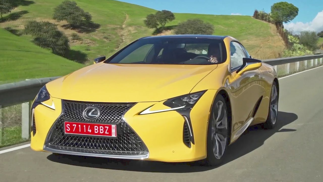 First Look 2018 Lexus Lc 500 Youtube