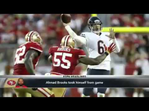 Ahmad Brooks Unhappy With Niners