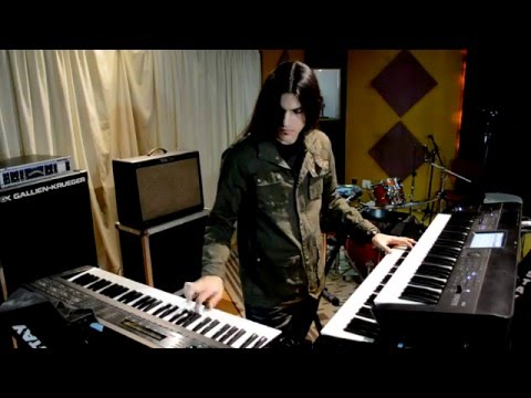 Dream Theater - The Dance Of Eternity (Keyboard Cover)
