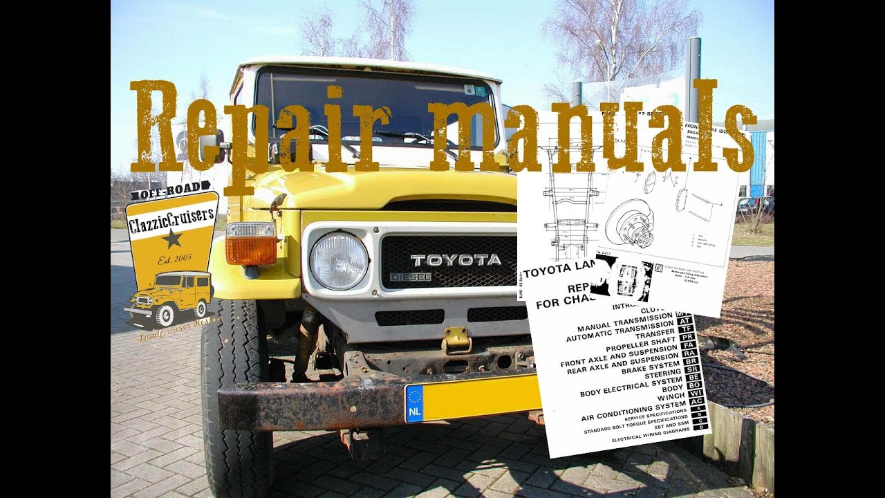 toyota landcruiser workshop manuals j4 series fj40 bj40 bj42 youtube rh youtube com