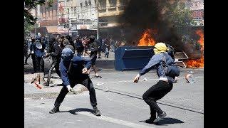 Evacúan sede del Congreso chileno por manifestaciones en Valparaíso