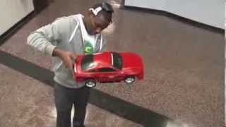 Mind control: Brain waves power model car