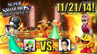 Super Smash Bros. - Smash It Up! (Wii U) - 11/21/14! A Starting Set of Smashes!