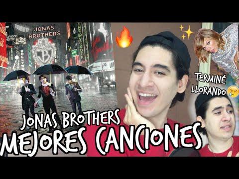 TOP 10 CANCIONES DE LOS JONAS BROTHERS 🔥 - GERA HUSSEIM