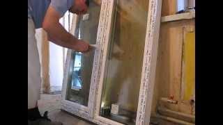 видео Установить пластиковое окно самостоятельно