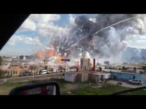 Explosión Tultepec, Estado de México