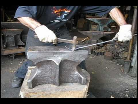 blacksmith anvils for sale used German industrial and historic anvils