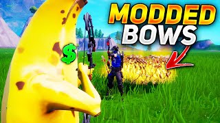 RICHEST Scammer Losses New Modded Bows! (Scammer Gets Scammed) In Fortnite Save The World Pve