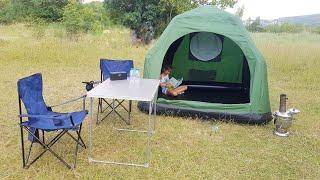 (Yok böyle bi çadır) Şişme kamp çadırı (4 kişilik) inflatable tent