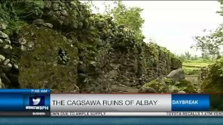 The Cagsawa Ruins Of Albay