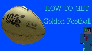 How to get Golden Football (Roblox Indonesia)