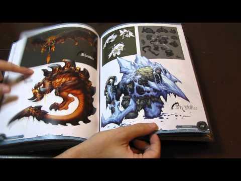 Artbook The Art Of Darksiders Ii Youtube
