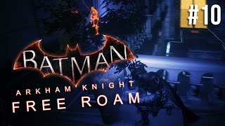 Batman Arkham Knight Free Roam Gameplay #10 - Bank Robbery (Batman Arkham Knight)