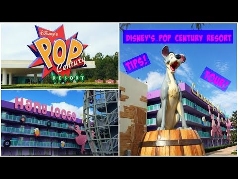 Disney's Pop Century Resort Guide: Tips and Walkthrough Tour!