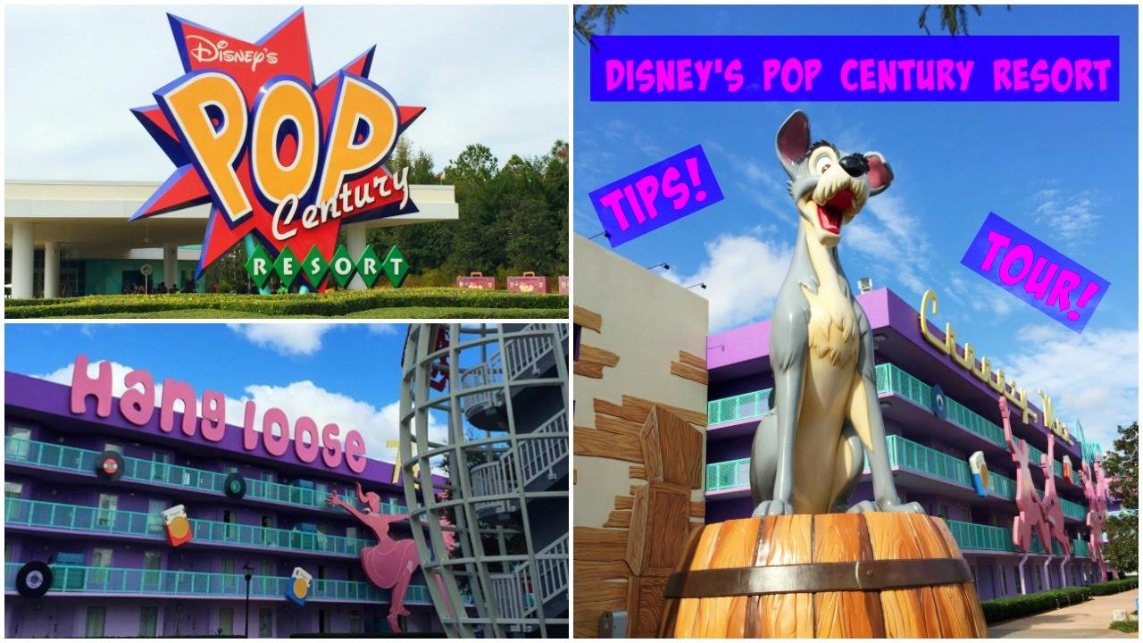 Disney\'s Pop Century Resort Guide: Tips and Walkthrough Tour! - YouTube