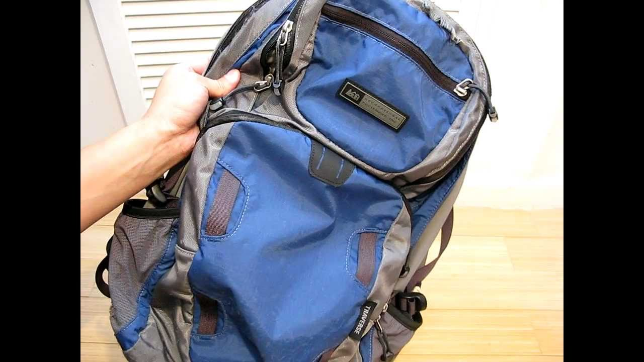 abe97329fb0d REI Traverse Backpack Review - YouTube