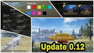 PUBG 0.12 Update | 2 New Guns |Major changes | Lots of Improvement and New Features Best Update Ever