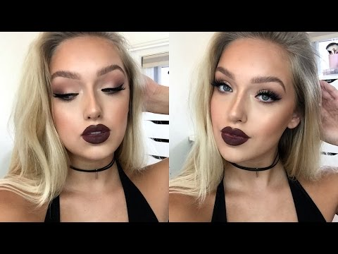 Baddie Makeup Tutorial Matte Eyes